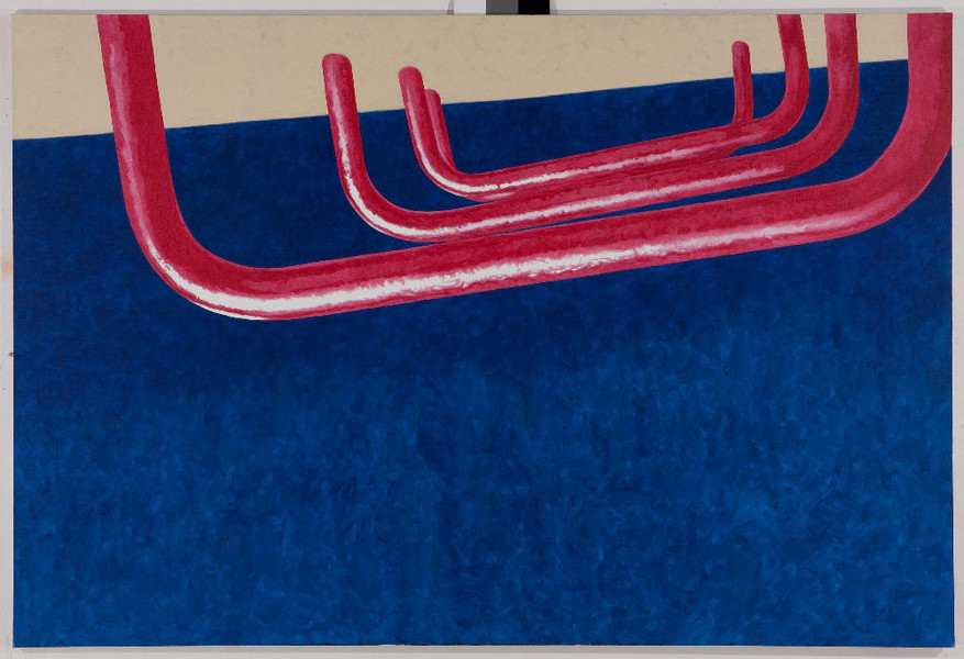 07.06.1988 III, 2008.135x200 cm, acrylic on canvas